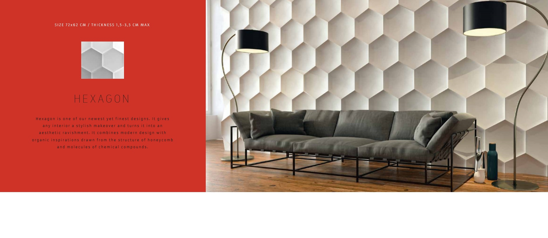 Hexagon 3D Wall Panels