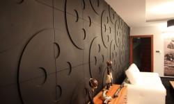 Circles 3d wall panels